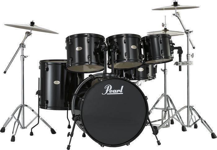 Pearl Drum Parts : pearl forum 5 piece drum kit in 22 10 12 14 black black hardware long mcquade musical ~ Vivirlamusica.com Haus und Dekorationen