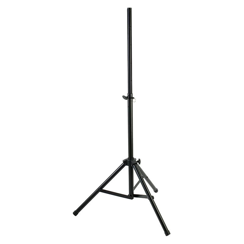 yorkville sound pair of steel speaker stands w bag long mcquade musical instruments. Black Bedroom Furniture Sets. Home Design Ideas