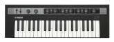 Yamaha - Reface CP 37 Mini Keyboard