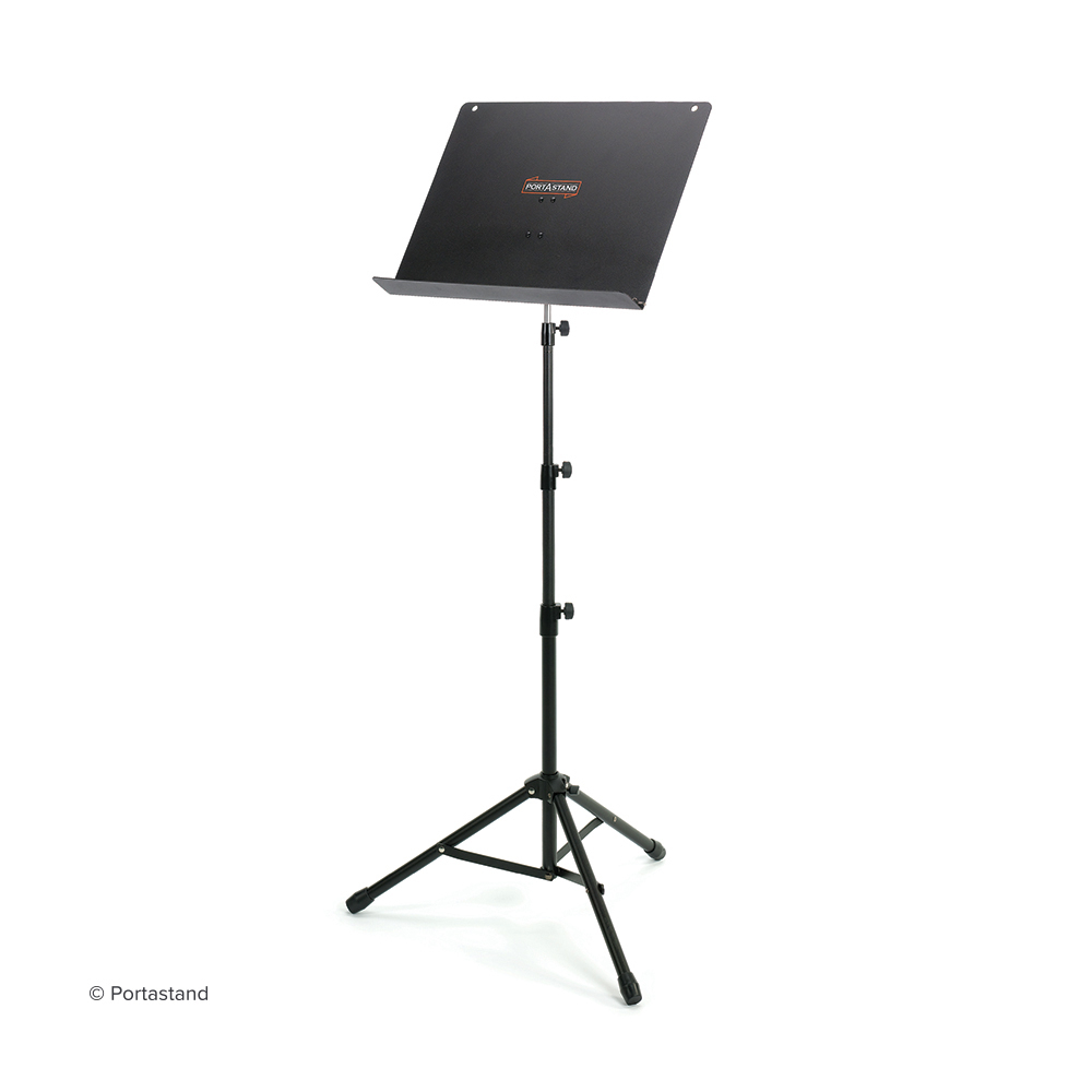 portastand minstrel foldable music stand long mcquade musical instruments. Black Bedroom Furniture Sets. Home Design Ideas