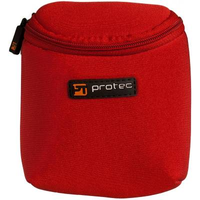 Multi Mouthpiece Pouch for Trombone/Alto Sax/Clarinet - Red