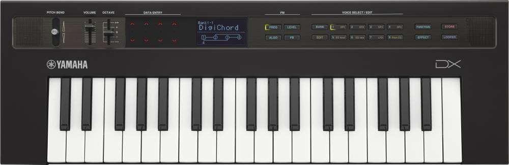 Yamaha - Reface DX 37 Mini Key FM Synthesizer