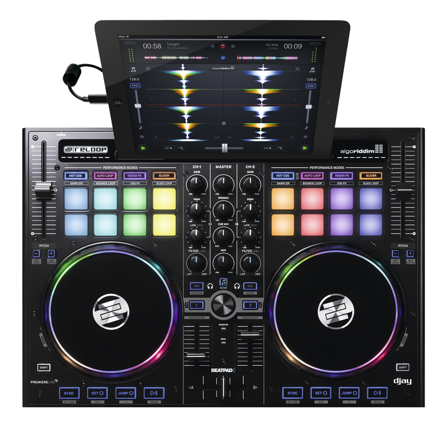 Reloop Professional Dj Controller For Ipad Mac Pc Long