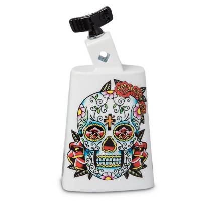 Collect-A-Bell Series, Black Beauty Cowbell - Sugar Skull