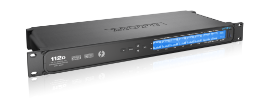 112-channel Thunderbolt Audio Interface
