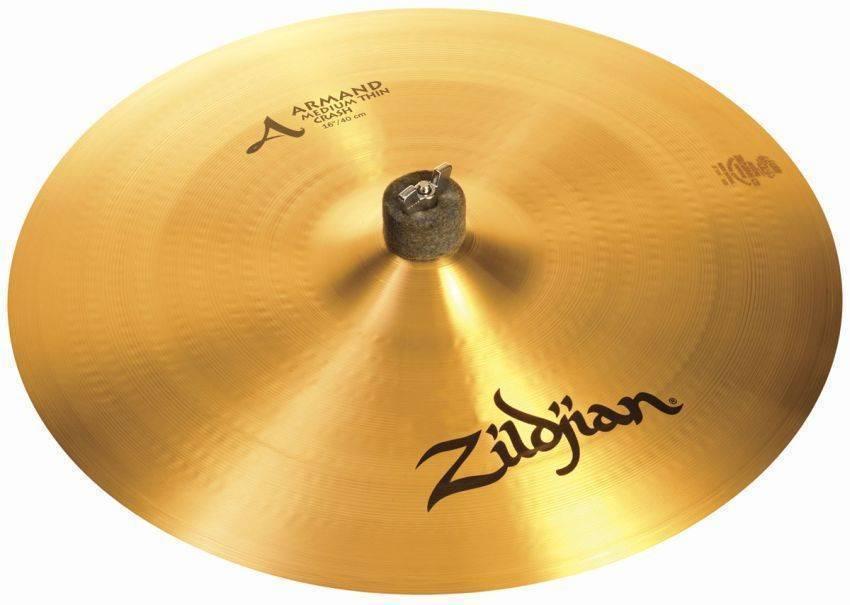 zildjian a 16 inch medium thin crash long mcquade musical instruments. Black Bedroom Furniture Sets. Home Design Ideas