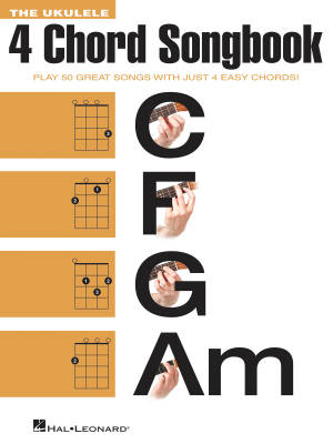 The Ukulele 4 Chord Songbook - Book