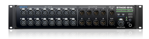 24/192 16-in/8-out USB/AVB Audio Interface