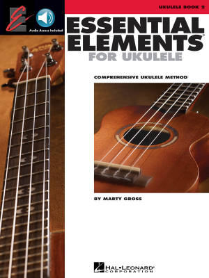 Essential Elements Ukulele Method Book 2 - Gross - Book/Audio Online