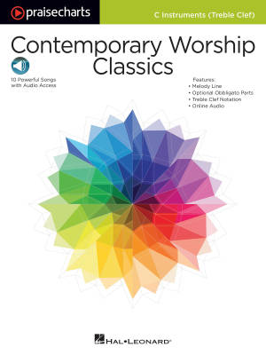 Contemporary Worship Classics - C Instruments T.C. - Book/Audio Online