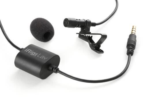 Lavalier Microphone for Smartphones/Tablets