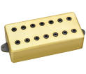 DiMarzio - Titan 7-String Bridge Pickup w/Gold Cover + Black Poles
