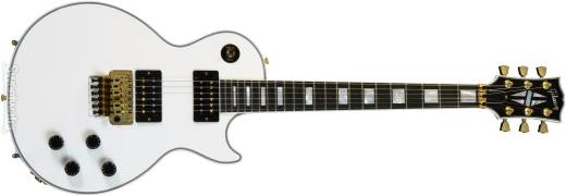 Les Paul Axcess Custom w/Floyd in Alpine White