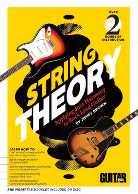 Guitar World: String Theory - Brown - Guitar - DVD