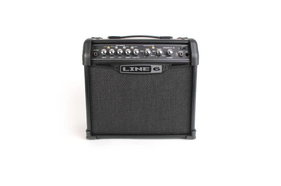 line 6 spider iv 15 long mcquade musical instruments. Black Bedroom Furniture Sets. Home Design Ideas
