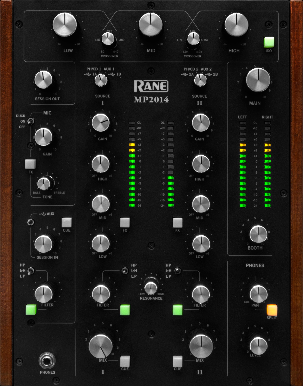 Rane 2-Channel Rotary Tabletop DJ Mixer - Long & McQuade