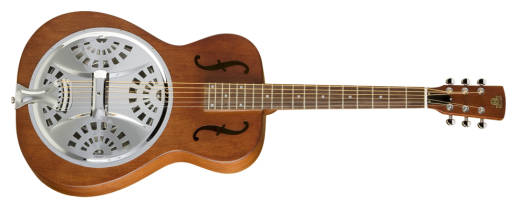 Hound Dog Dobro - Round Neck