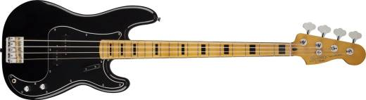 Classic Vibe Precision Bass 70's 4-String Guitar Maple - Black