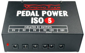 Pedal Power ISO-5 - 5 Output Power Supply