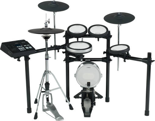 DTX700K 5-Piece Electronic Drum Kit + KP100 Kick Drum w/TCS Pads & Hihat Stand