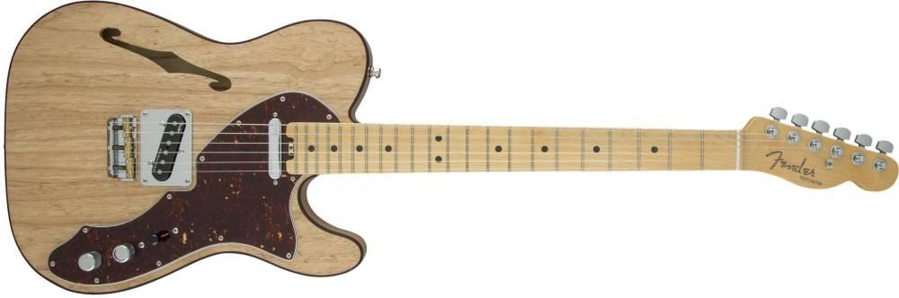 fender american elite telecaster thinline maple fingerboard natural long mcquade musical. Black Bedroom Furniture Sets. Home Design Ideas