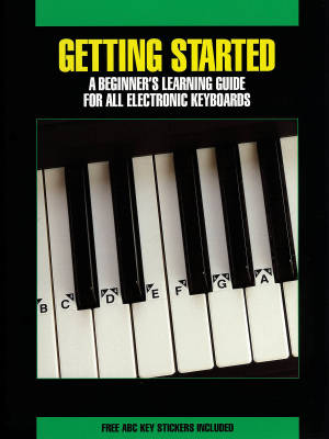 Getting Started for All Electronic Keyboards - Book