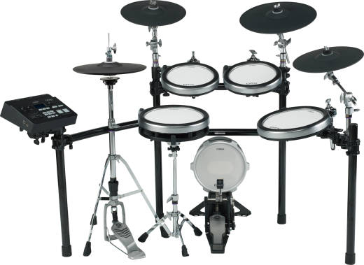DTX760K 6-Piece Electronic Drum Kit + KP100 Kick Drum w/TCS Pads & Hihat Stand