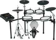Yamaha - DTX900K Electronic Drum Kit + KP100 Kick Drum w/TCS Pads & Hihat Stand