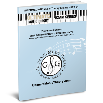 Intermediate Music Theory Exams-Set 1 - McKibbon-U'Ren/St. Germain - Workbook