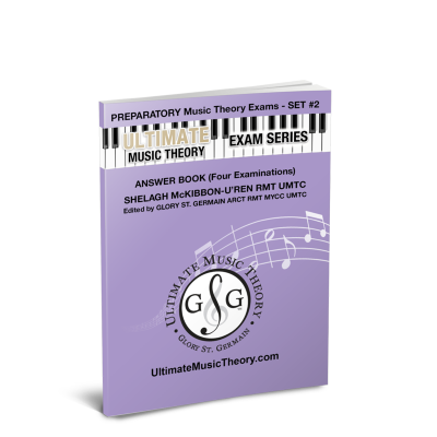 Preparatory Music Theory Exams-Set 2 - McKibbon-U'Ren/St. Germain - Answer Book