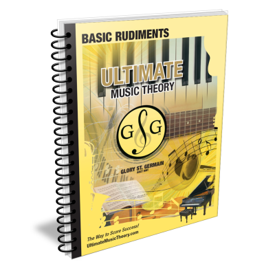 Basic Music Theory Rudiments - St. Germain - Workbook