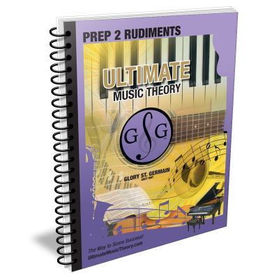 Prep 2 Music Theory Rudiments - St. Germain - Workbook