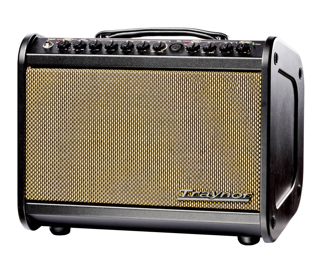 traynor 65 watt acoustic amp w effects long mcquade musical instruments. Black Bedroom Furniture Sets. Home Design Ideas
