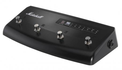 4 Channel Footswitch with Tuner Display for Marshall MG Series Amps