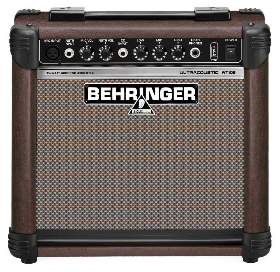 behringer at108 acoustic guitar amp long mcquade musical instruments. Black Bedroom Furniture Sets. Home Design Ideas