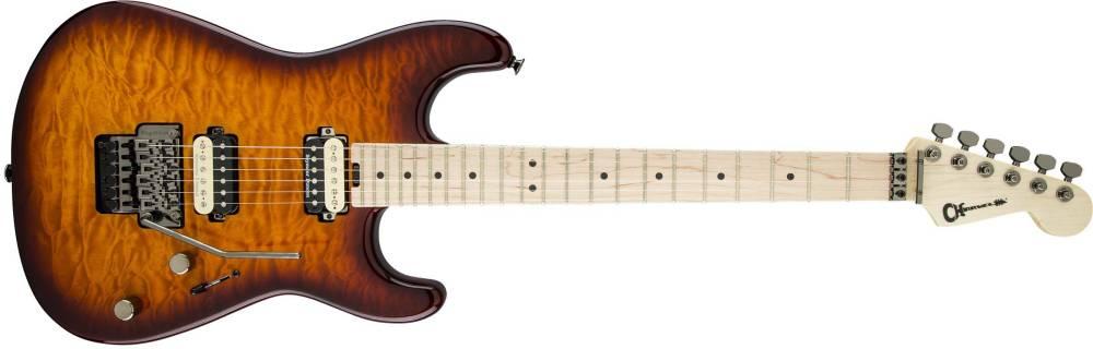 charvel guitars pro mod san dimas style 1 2h fr tobacco burst long mcquade musical. Black Bedroom Furniture Sets. Home Design Ideas