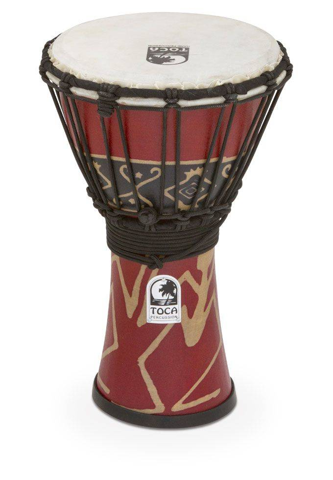 Toca Percussion Freestyle Rope-tuned Djembe