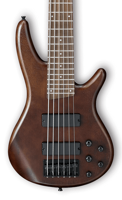 Ibanez GIO Series 6-String Bass Guitar HH - Walnut Flat - Long ...