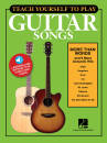 Hal Leonard - Teach Yourself to Play Guitar Songs: More Than Words & 9 More Acoustic Hits - Guitar TAB - Book/Media Online