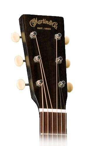 martin guitars 17 series 000 acoustic guitar w case black smoke long mcquade musical. Black Bedroom Furniture Sets. Home Design Ideas