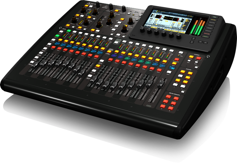 behringer x32 compact 40 input 25 bus digital mixing console long mcquade musical instruments. Black Bedroom Furniture Sets. Home Design Ideas