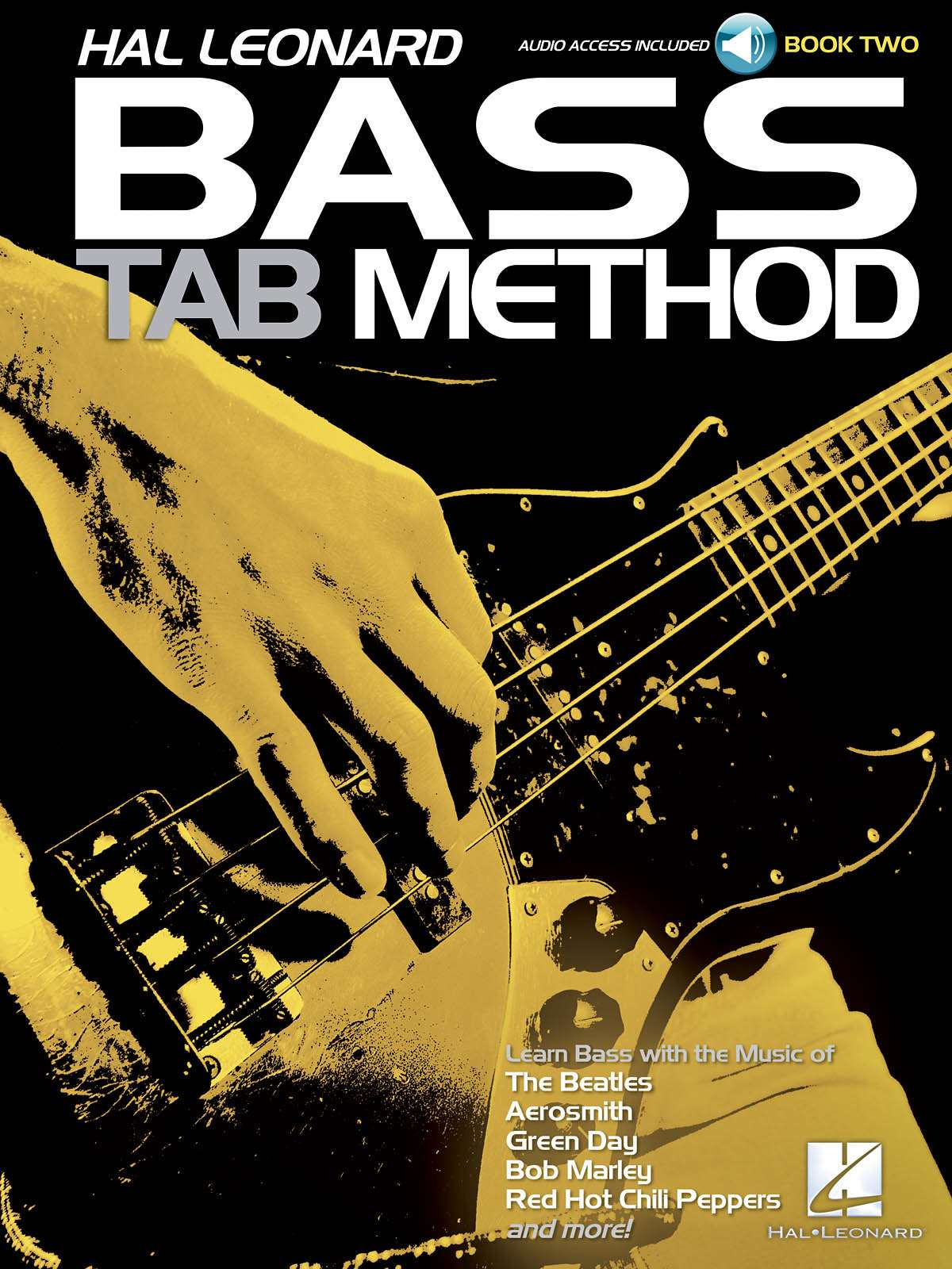 Hal Leonard Hal Leonard Bass Tab Method Book 2 Bass Guitar Book