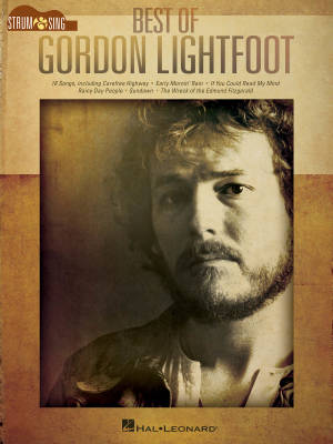 Strum And Sing: Best of Gordon Lightfoot - Guitar - Book