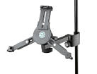 K & M Stands - Universal Tablet PC Holder - Black