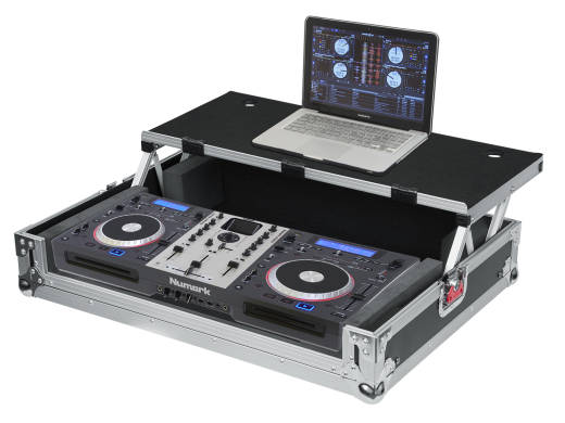 G-TOUR Universal Fit Road Case for Medium Sized DJ Controllers