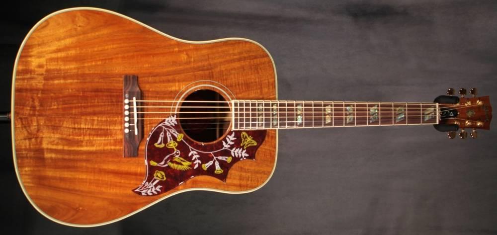 Gibson Hummingbird Koa Elite Ltd Long Amp Mcquade Musical