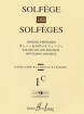 Editions Henry Lemoine - Solfege des Solfeges Vol.1C (Without Piano) - Lavignac - Voice - Book