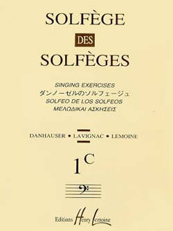 Solfege des Solfeges Vol.1C (Without Piano) - Lavignac - Voice - Book