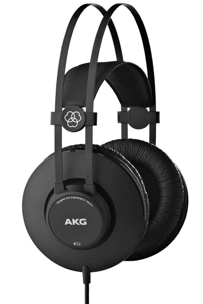 AKG K52 Closed Back Studio Headphones - Long & McQuade