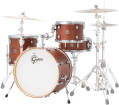 Gretsch Drums - Catalina Club Classic 4-Piece Shell Pack 20/14/12/Snare - Satin Walnut Glaze